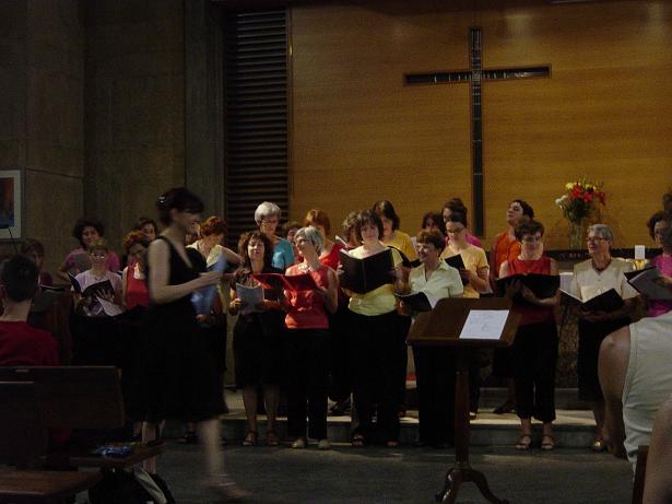 photo concert vaise Annonciation chorale